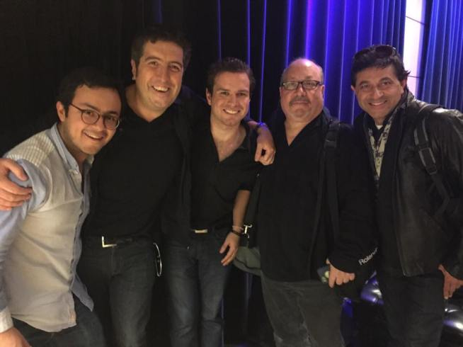 Marco Flores, Cheche Alara, Ramón Stagnaro, and Ray Islas