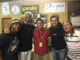 Victor Wooten, Chuck Rainey, Josiah Contreras, and Steve Bailey